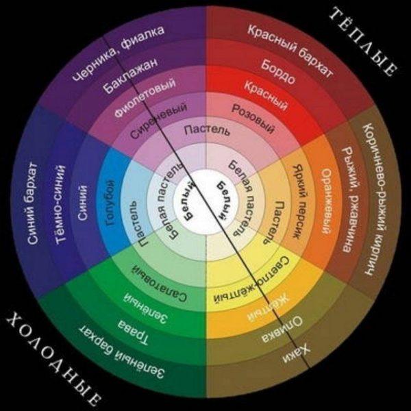Цветовой круг поможет правильно построить монохромную клумбу