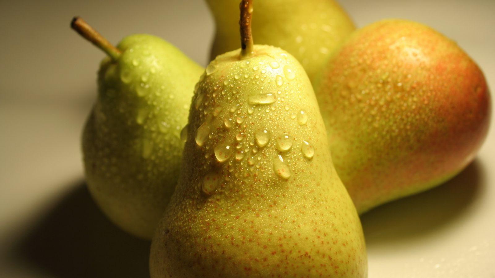 Вкусовые качества груши Белорусской поздней оцениваются на 4,2-4,4 балла