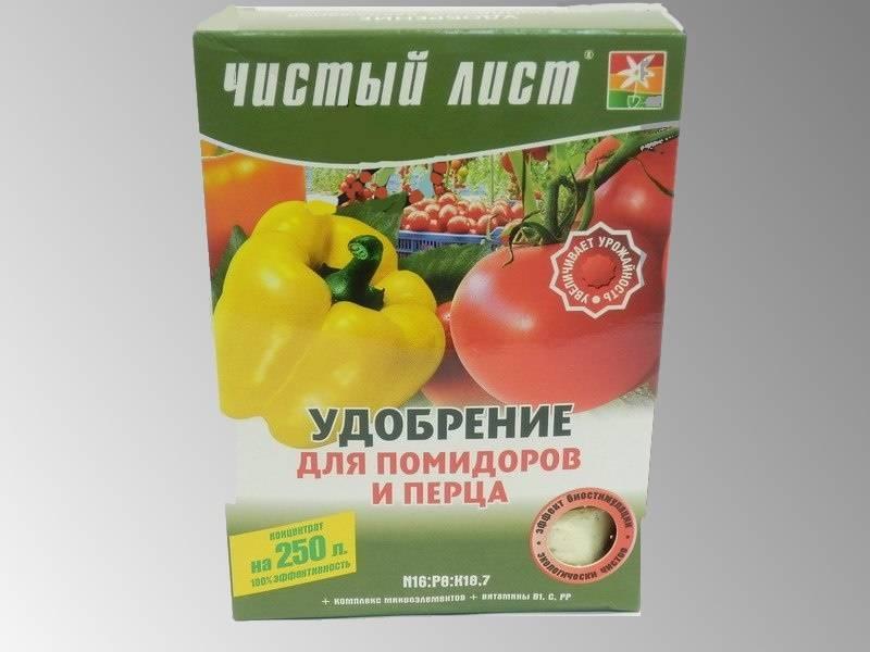 В готовых минеральных комплексах есть все полезные для томатов вещества