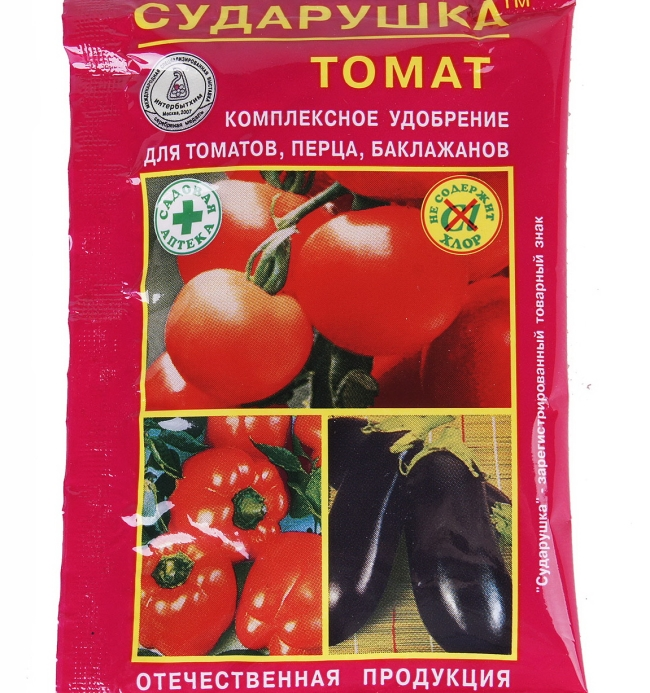 Комплексное минеральное удобрение позволит собрать максимальный урожай томатов