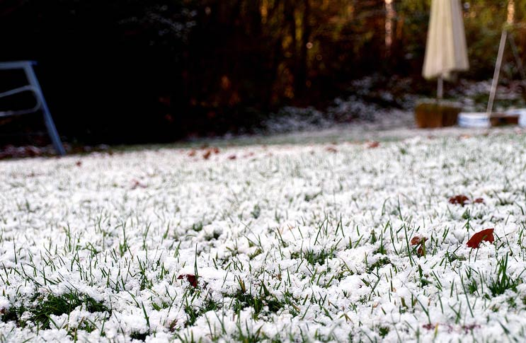 Не скидывайте снег с дорожек на покрытие