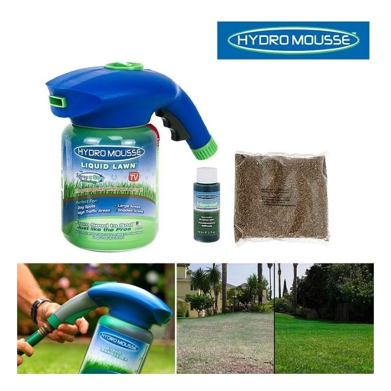 Необходимо предупредить, что ручной распылитель пригоден для высева жидкого газона лишь на небольших площадях. Он станет оптимальным выбором для дач, маленьких загородных участков и пр.